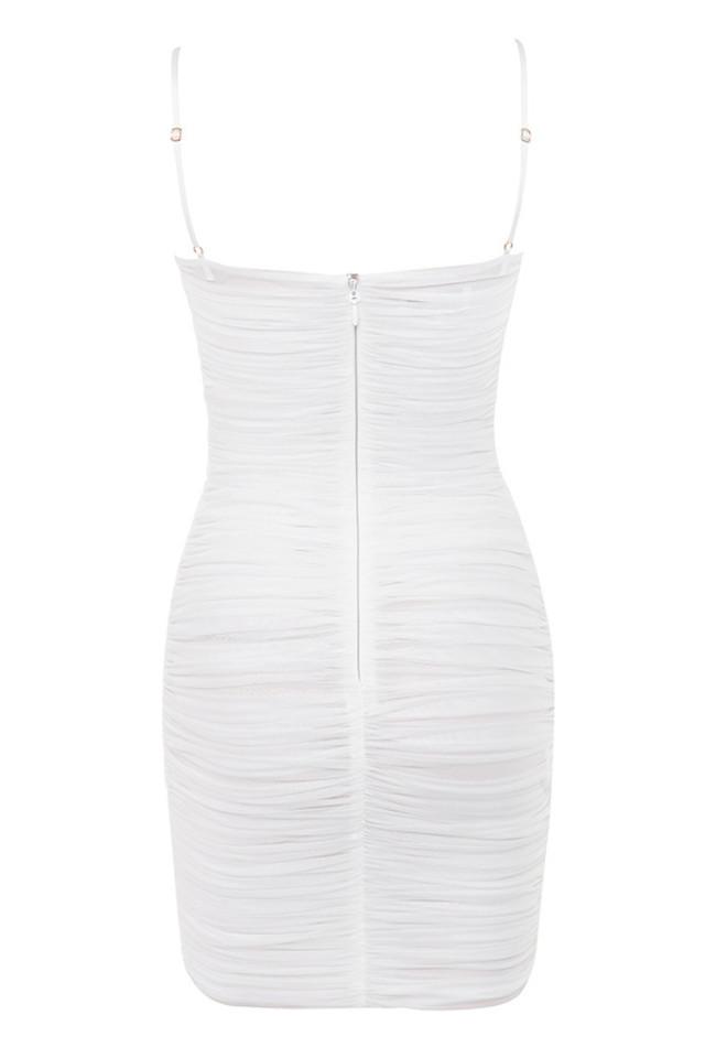 ella dress in white