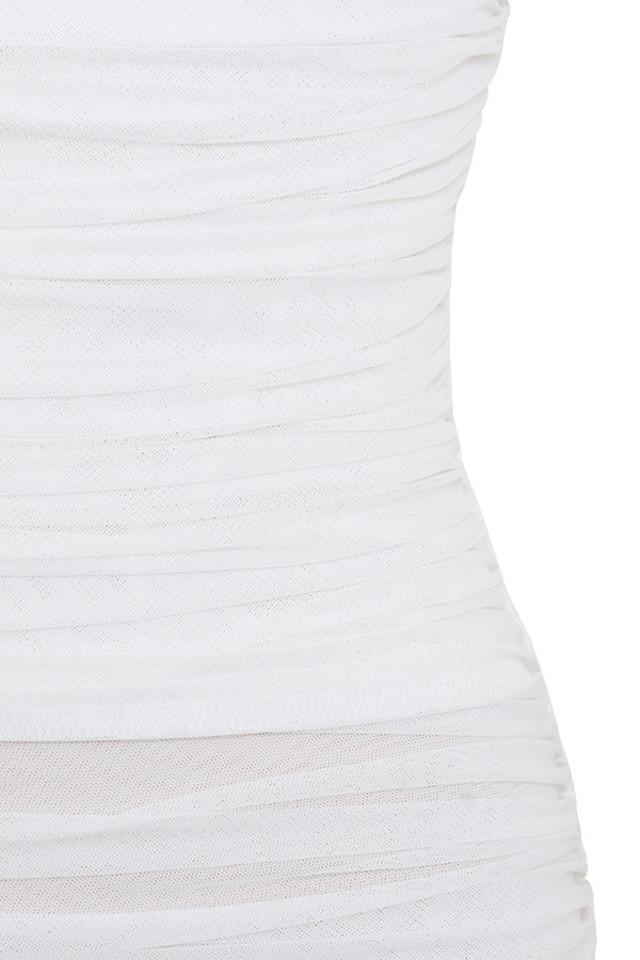 white ella dress