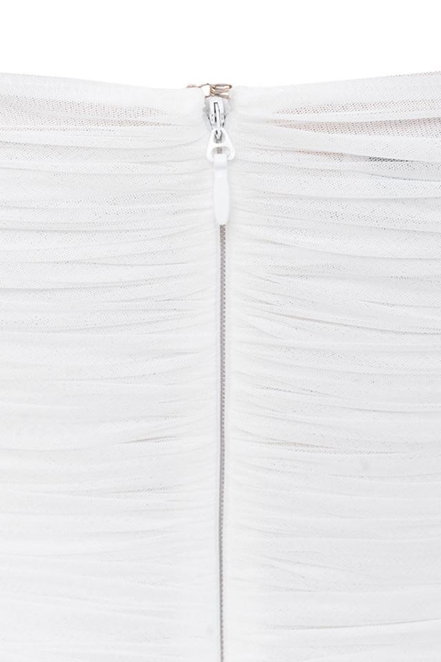 ella white dress
