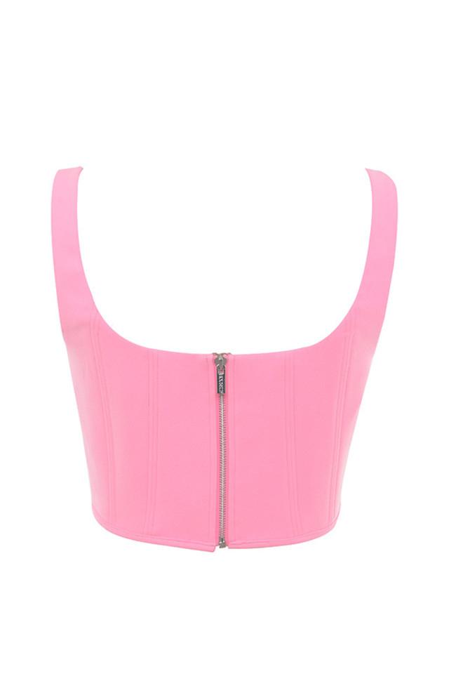 frangelica top in pink