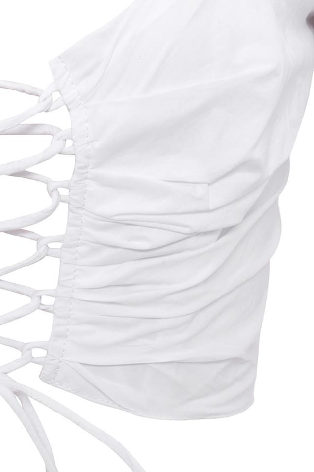 white lillianna top