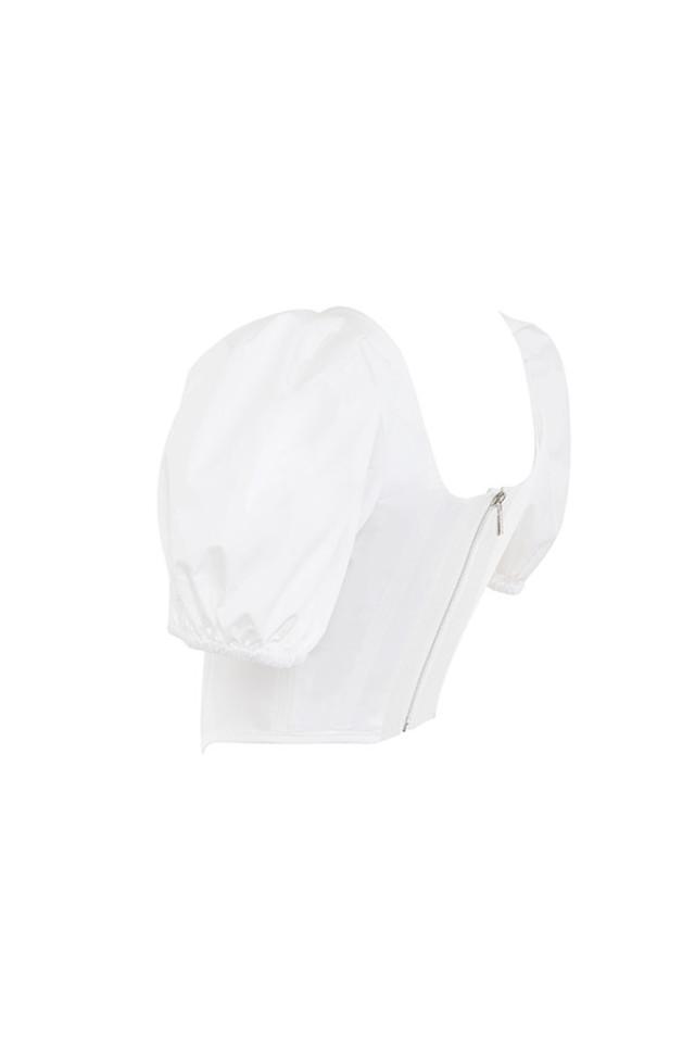 maura in white