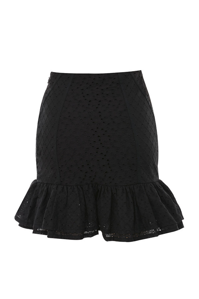 nathlie skirt in black