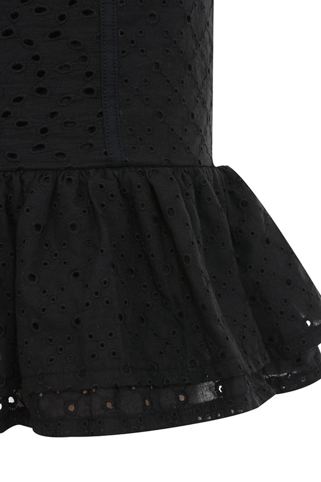 black nathlie skirt