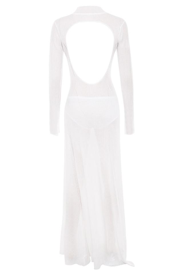 orianna dress in white