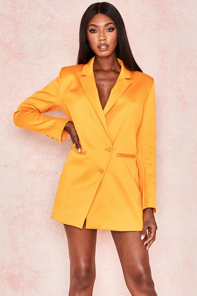 Sophia Mango Oversized Blazer Dress