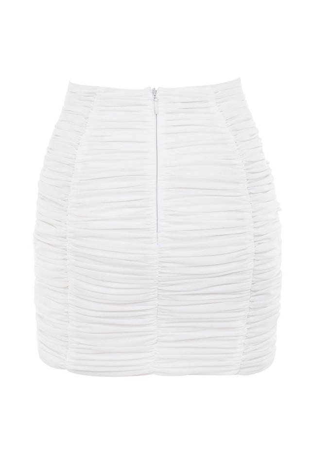 alizee skirt in white