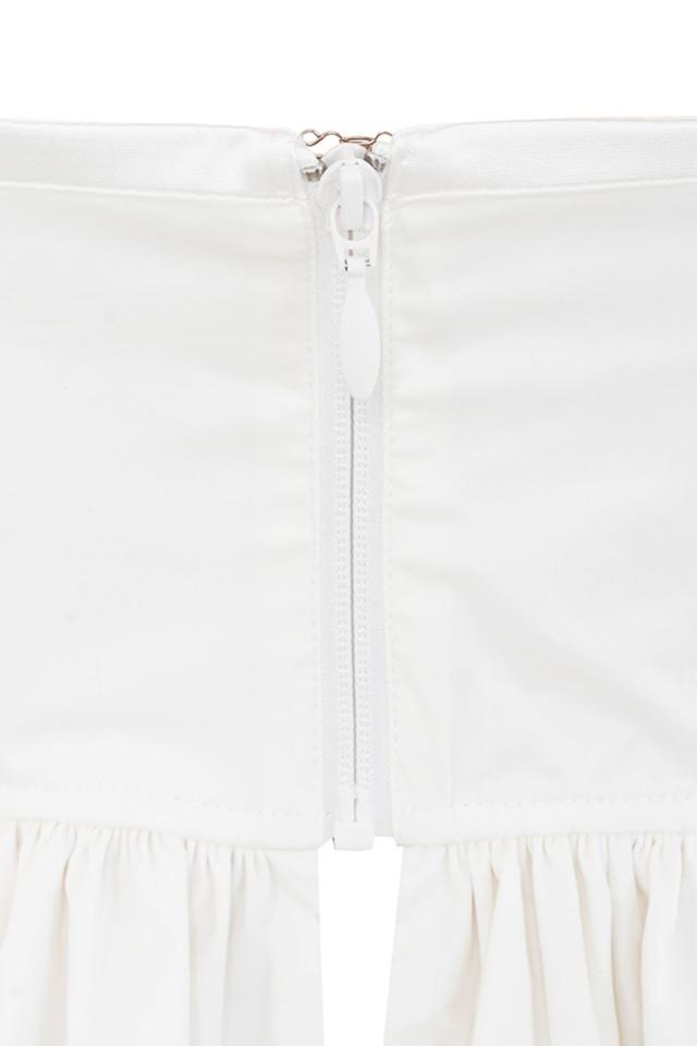 white bourgia top