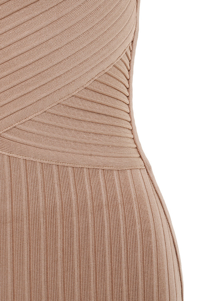 tan carlita dress
