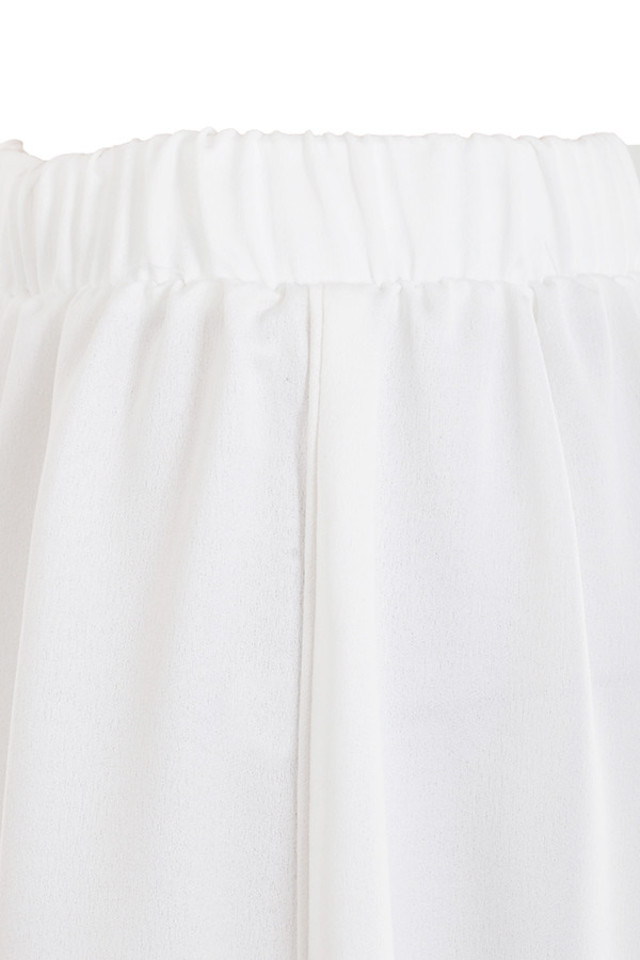 white cassis trousers