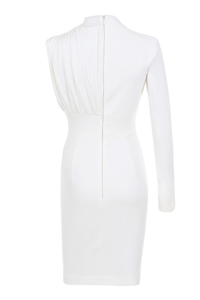 corinne dress in white