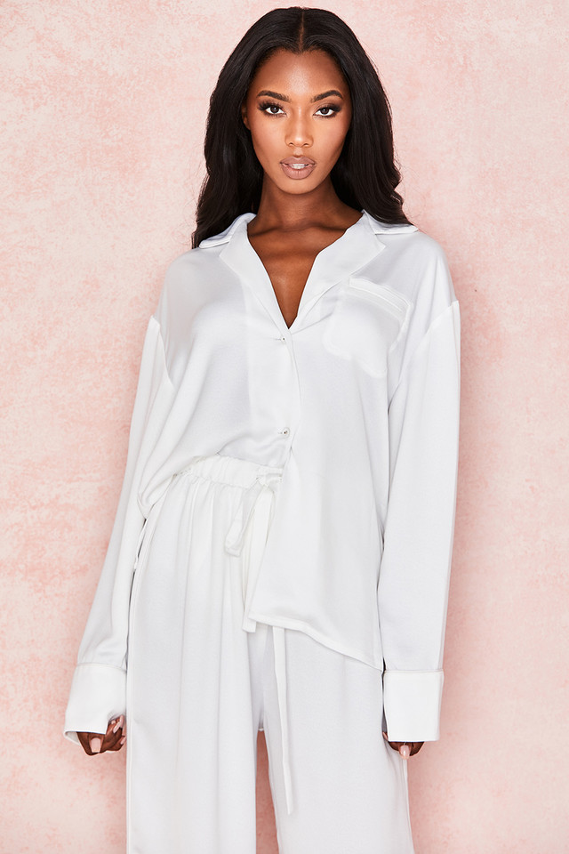 Dion Milk Satin Shirt