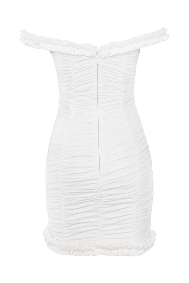 hermione dress in white