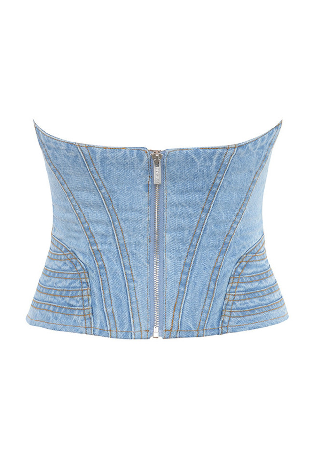 joie top in denim