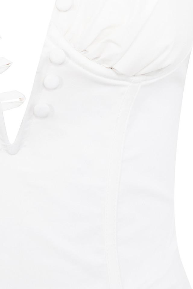 white liberte dress