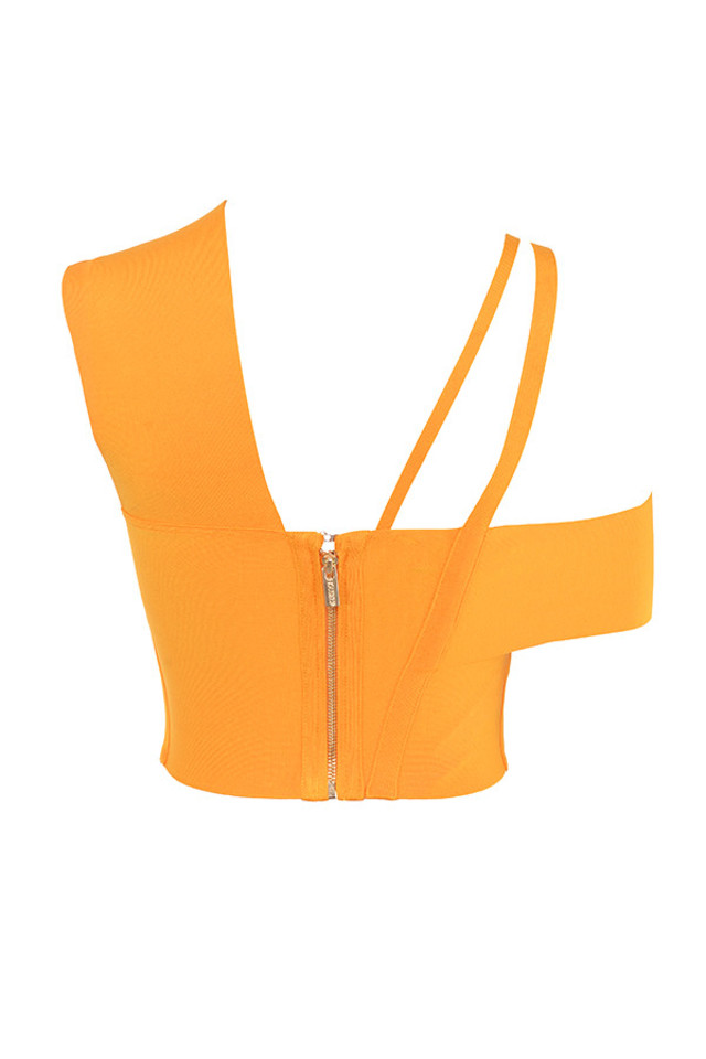 melody top in orange
