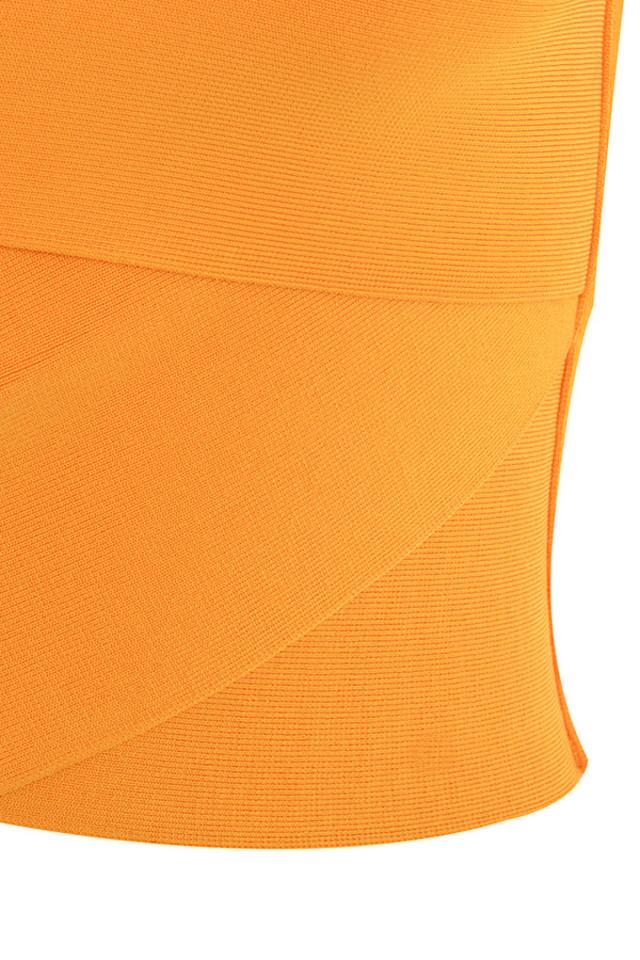 orange melody top