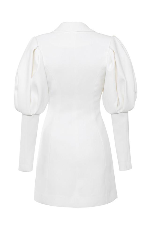 saint jean dress in white