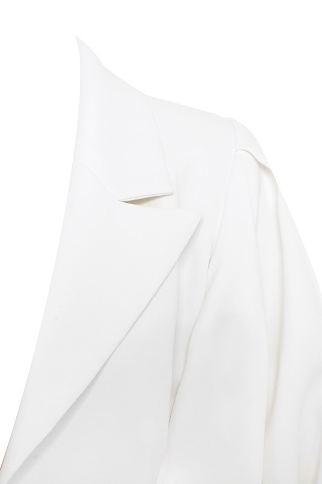 saint jean jacket in white