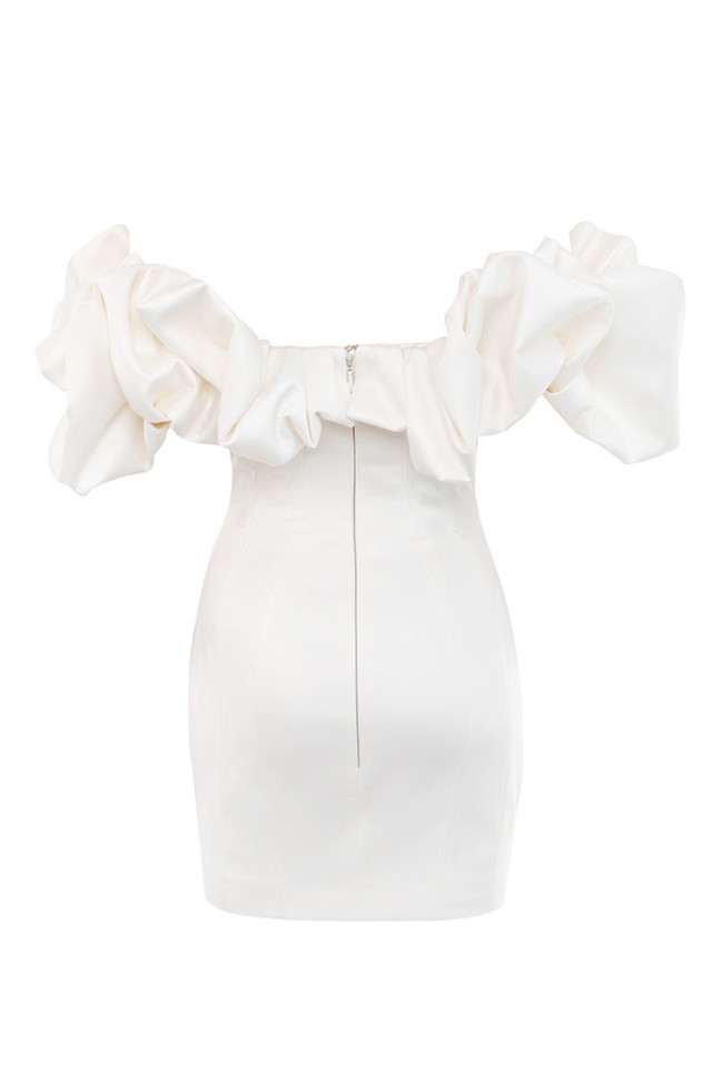 bisou dress in ivory