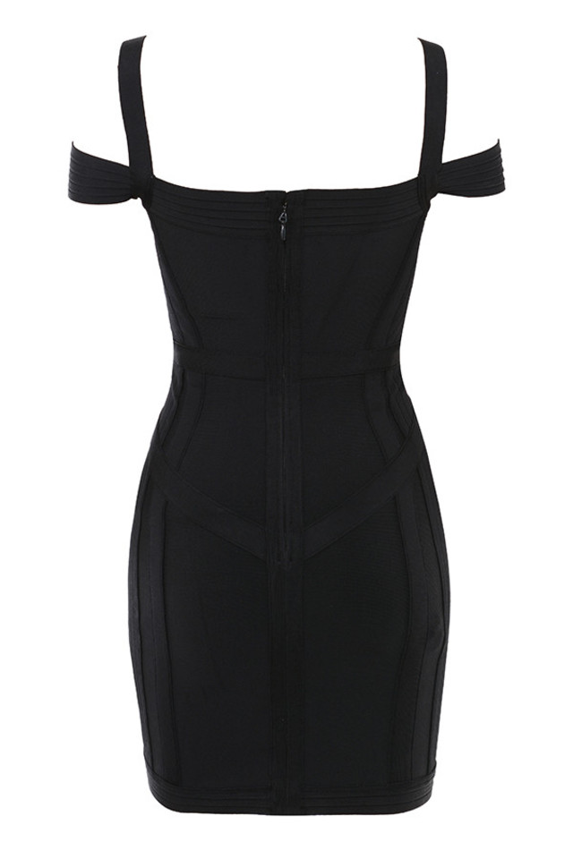 blaise dress in black