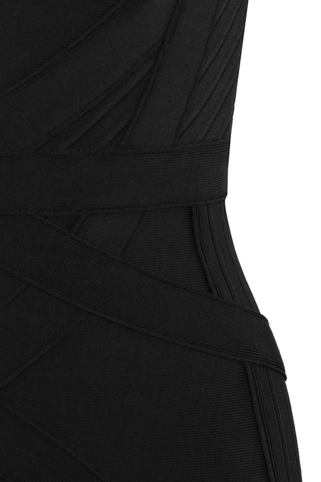 black blaise dress