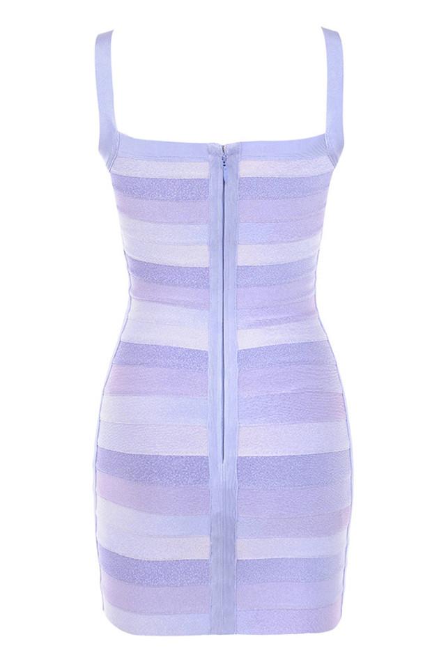 brigitte dress in violet