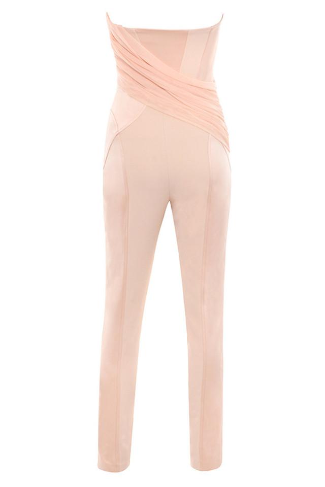 casela jumpsuit in blush
