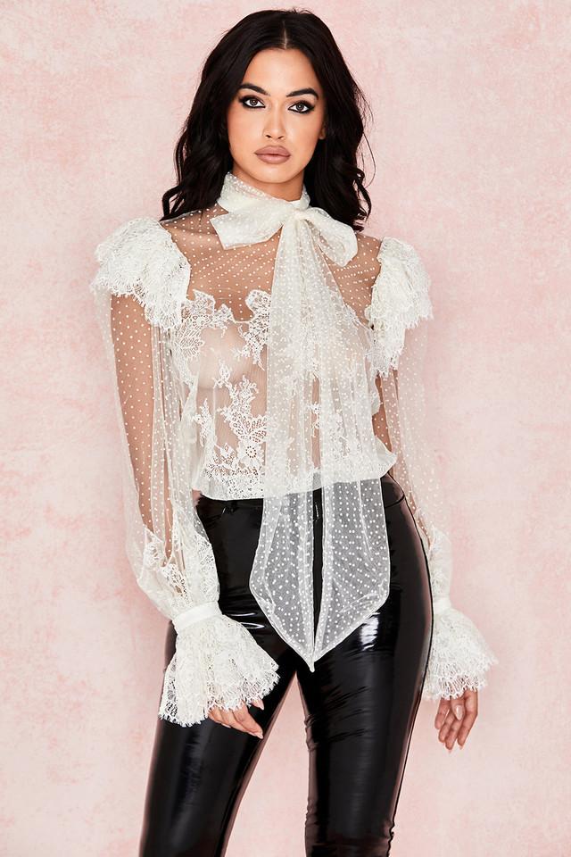 Cocotte Ivory Lace Blouse