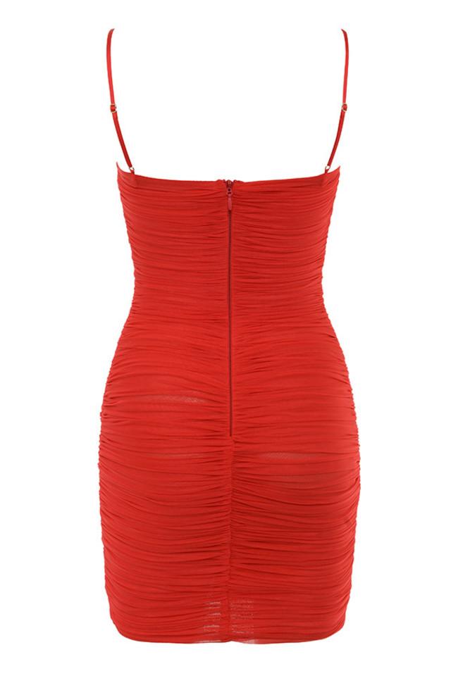 ella dress in red