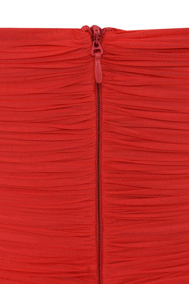 red ella dress