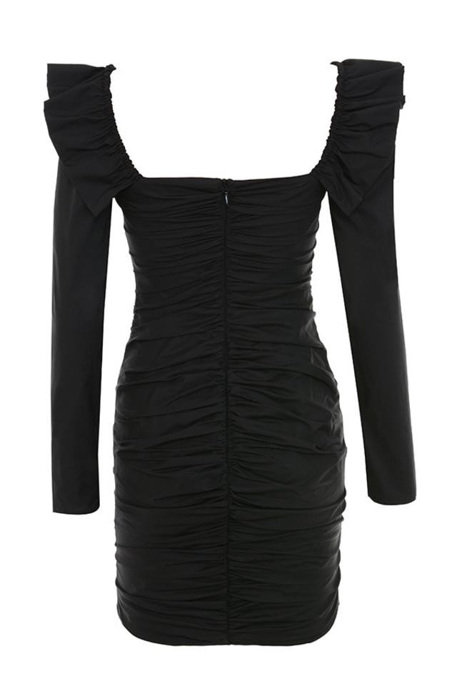 floriana dress in black