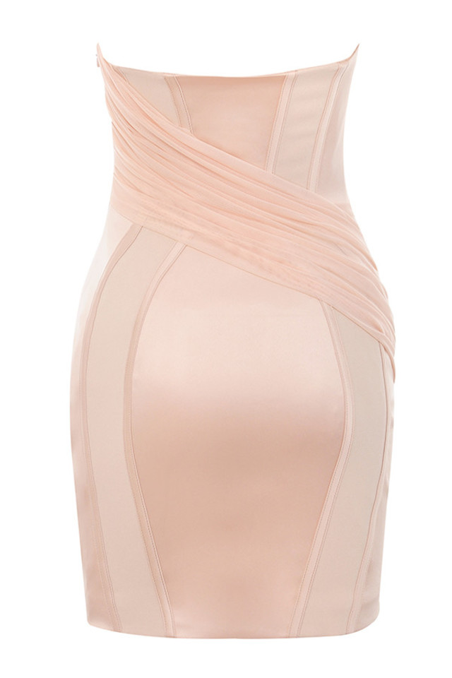 gisou dress in blush