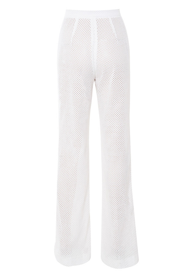 mesdames trousers in white