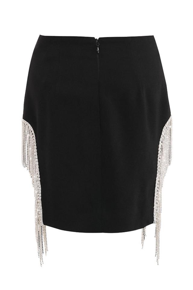 oriana skirt in black