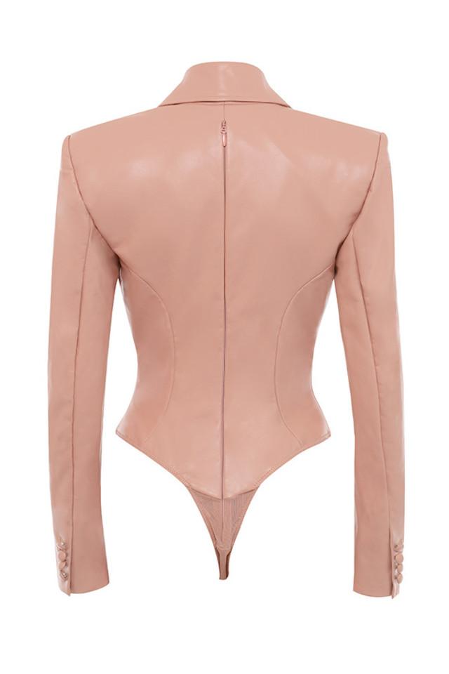 peony jacket in blush