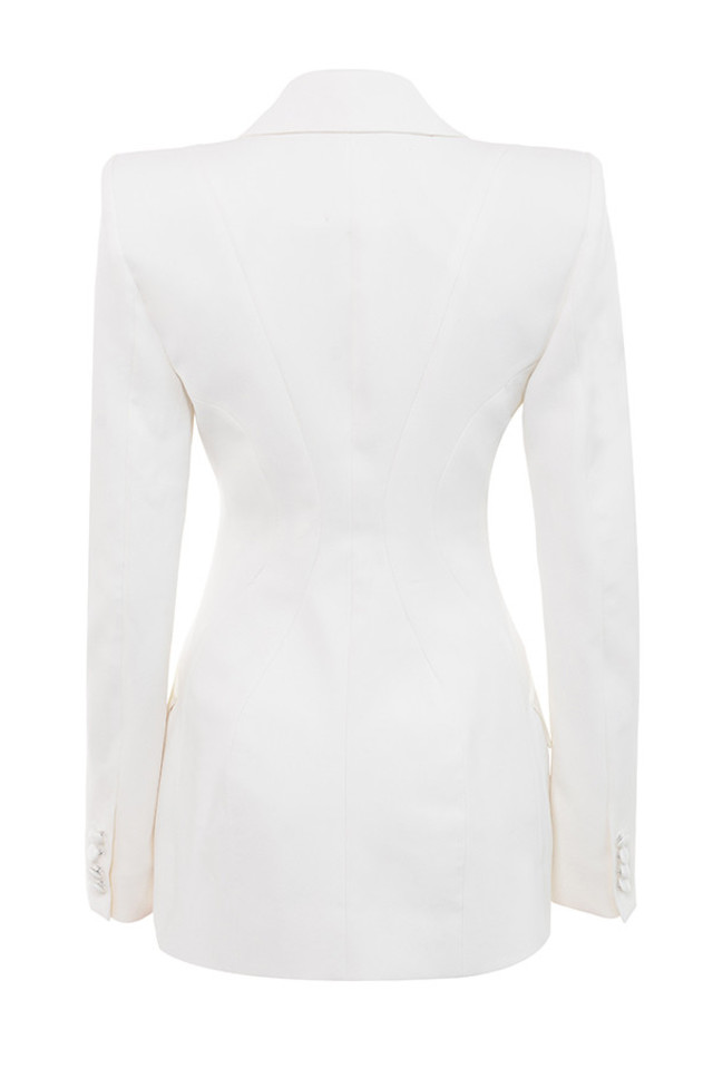 romana jacket in white