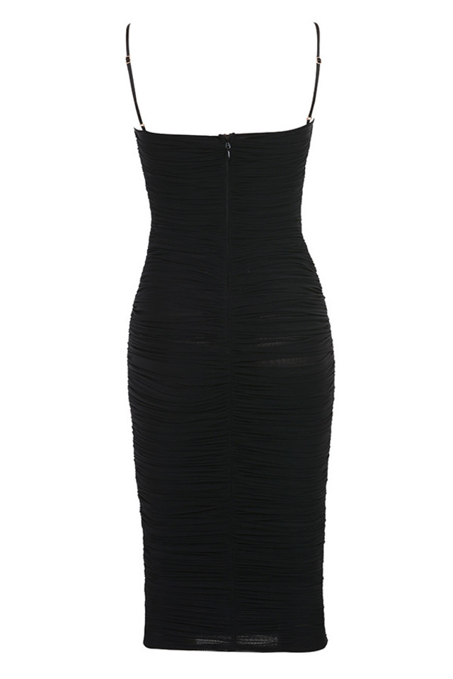 sirene dress in black
