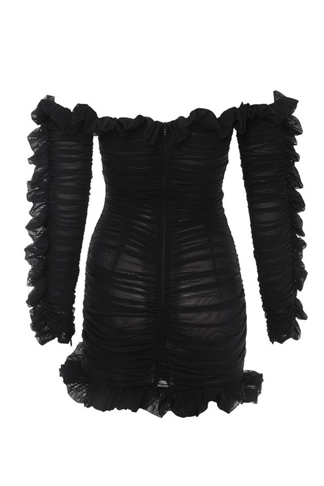 tatyana dress in black