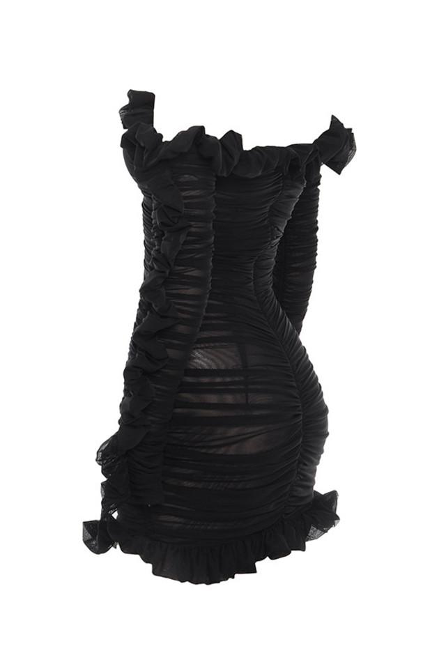 tatyana in black