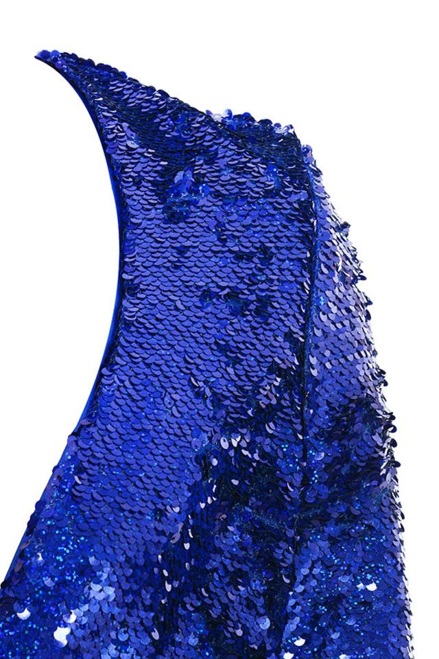 cameo bodysuit in blue