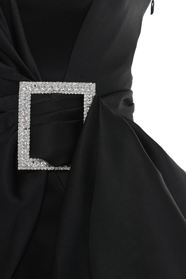 black chiara dress