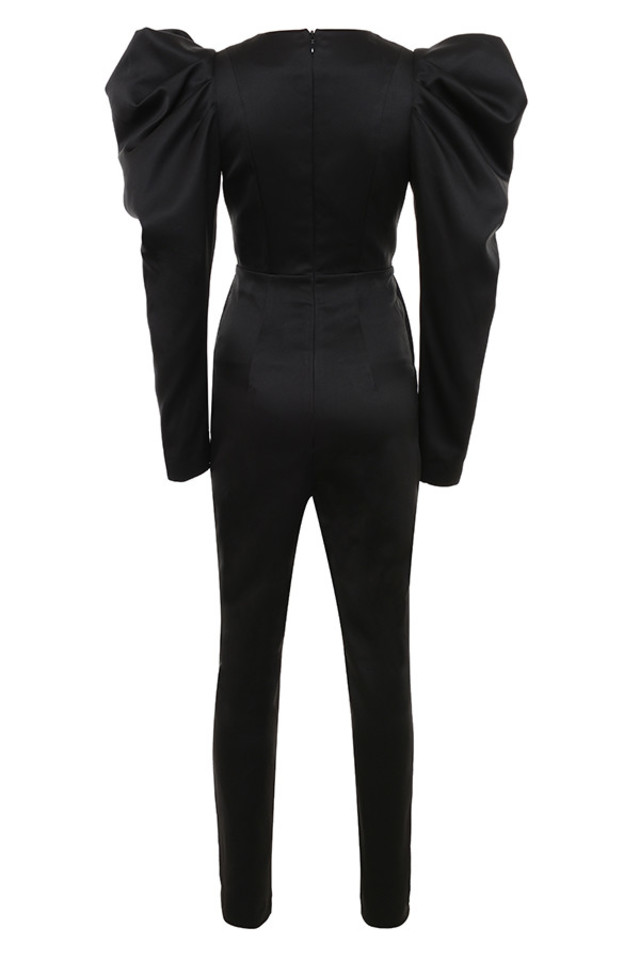 escalia jumpsuit in black