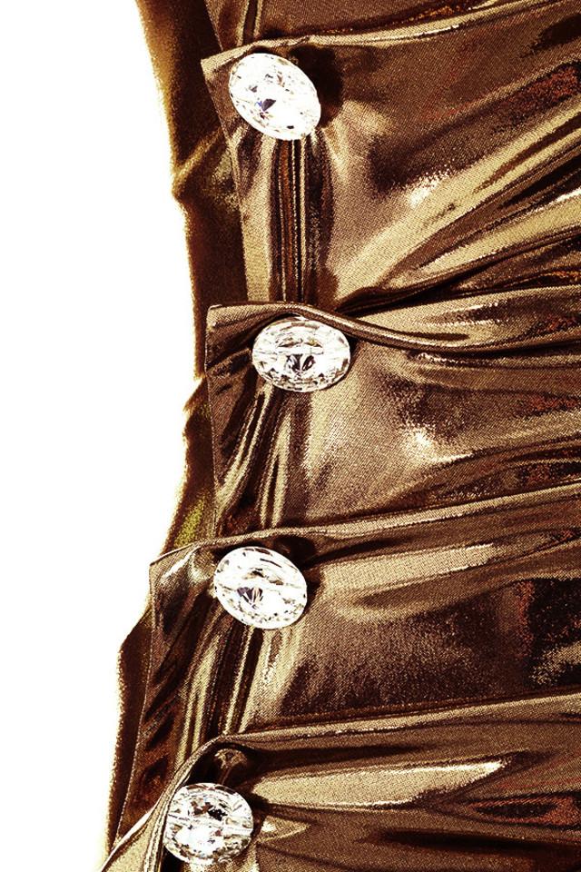 gold gaby dress