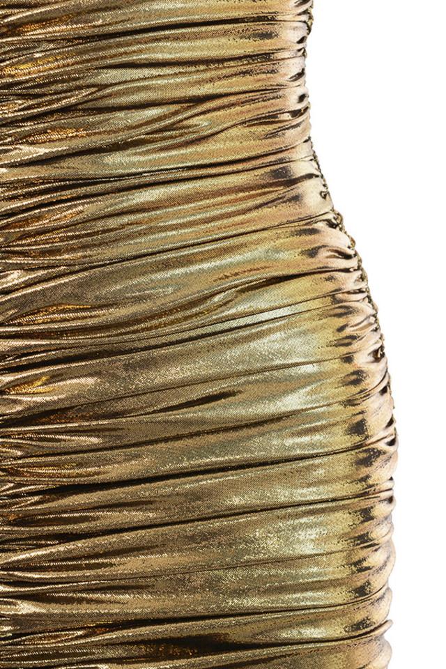 gold gaia dress