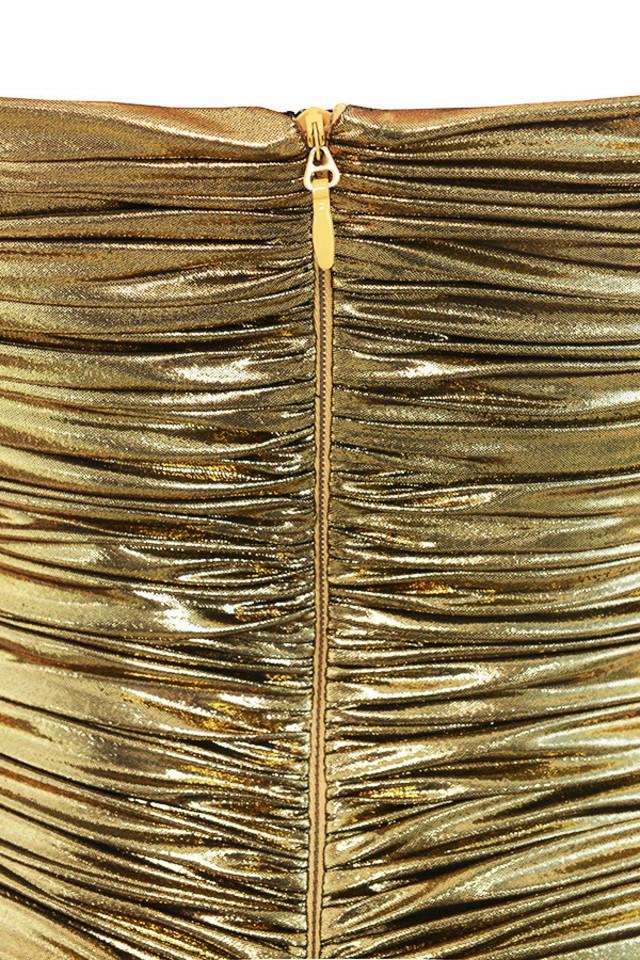 gaia gold dress