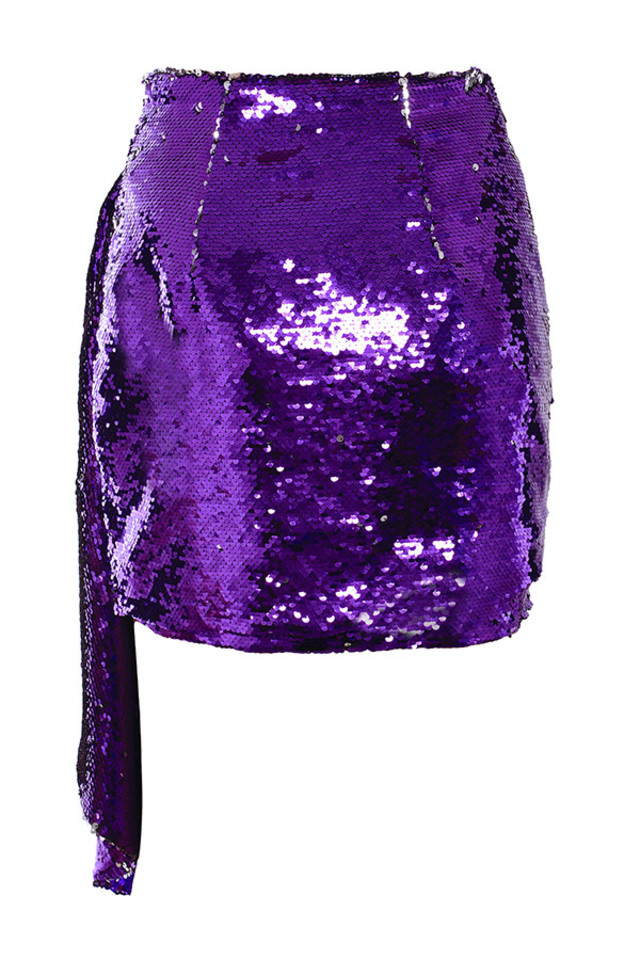 katya skirt in purple