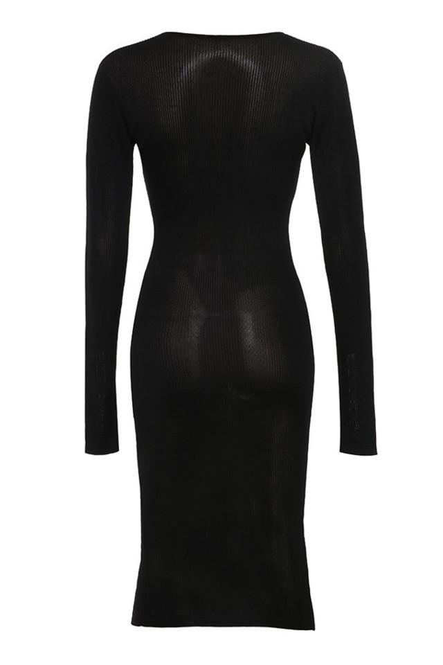 liliana dress in black