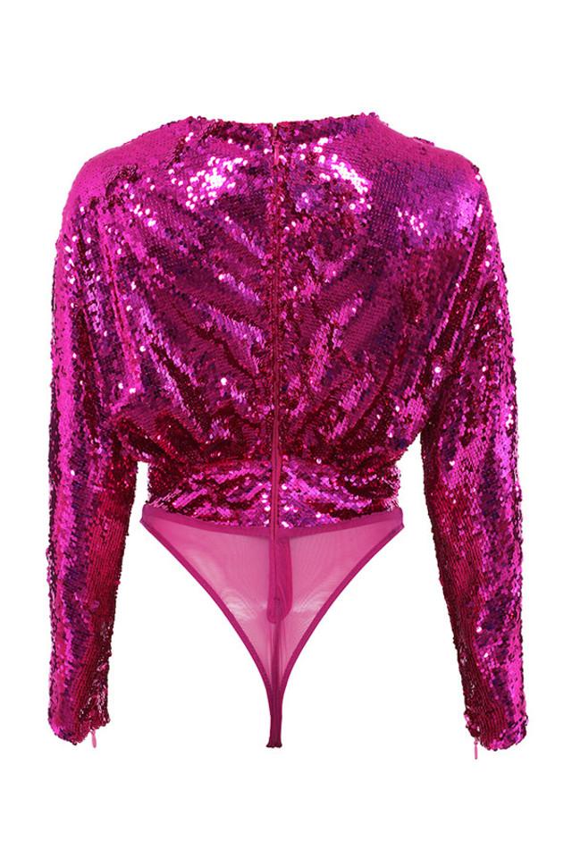 linda top in pink