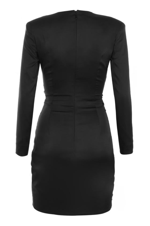 nelinha dress in black